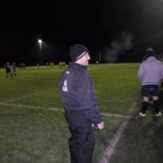 Wrapped up warm, it was a cold 2 Deg.C that night!
